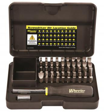 Wheeler Engineering          	43 Piece Professional Gunsmithing Screwdriver Set?>