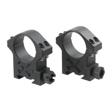 Talley Manufacturing          	35mm Black Armor Picatinny Tactical Rings (4 Screw)?>