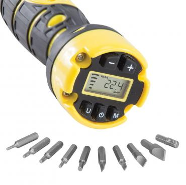 Wheeler Engineering          	Digital F.A.T. Torque Wrench with 10 Bit Set?>