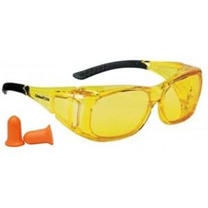 Champion Over-Spec Ballistic Eyes & Ears Combo - Amber?>