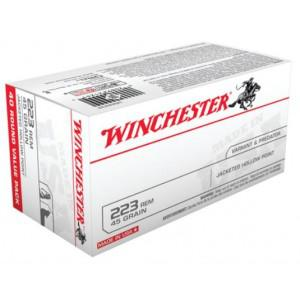 Winchester 223REM 45gr Jacketed Hollow Point - 40rd Box?>