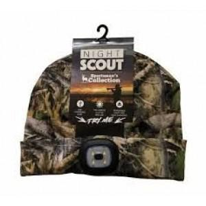 Night Scout Camo Ultra-Bright LED Beanie?>