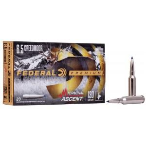 Federal Terminal Ascent 6.5CM 130gr Ammunition?>