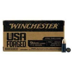 Winchester USA Forged 9mm Luger 115gr FMJ - 500 Rounds?>