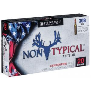 Federal Non Typical 308Win 150gr Soft Point Ammunition?>