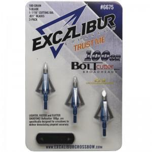 Excalibur Crossbow Boltcutter 100gr - 3Pack?>