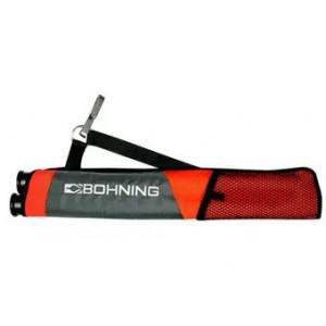 Bohning Youth Tube Quiver Gray/Orange?>