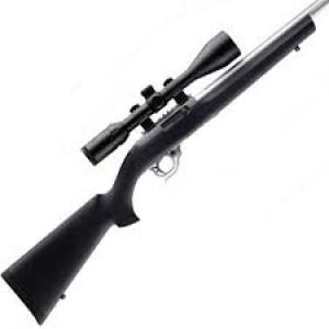 Hogue OverMolded Ruger 10.22 Rifle Stock - Black ?>