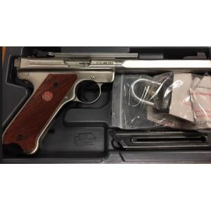 *Consignment* Ruger MK3 Competition Target Stainless 22LR?>