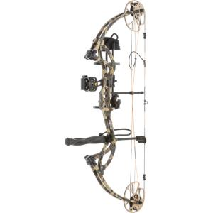 Bear Cruzer G2 RH 5 - 70# Compound Bow *PACKAGE* - Fred Bear Camo?>