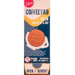 "Invito Coffee Tabs Real Single Use Coffee - 10 Pack ""CITRUS""?>"