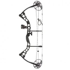 Diamond Prism RH 5-55# Black Compound Bow *Package*?>