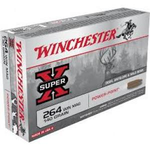 Winchester Super-X 264 Win Mag 140gr Powerpoint + $5 Winchester Rebate?>