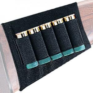 Uncle Mikes Buttstock Shell Holder - Shotgun 5 Loops?>