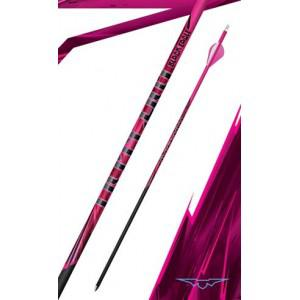 Black Eagle Outlaw Fletched Arrows Crested Pink 400 - (6 Pack)?>