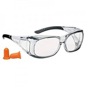 Champion Over-Spec Ballistic Eyes & Ears Combo - Clear?>
