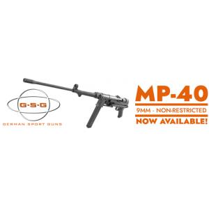 GSG MP-40 9x19mm Standard Black - Non Restricted?>