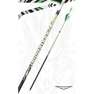 Black Eagle Deep Impact Crested Fletched Arrows 350 - (6 Pack)?>