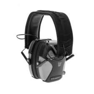 Caldwell E-Max Pro Low Profile 23NRR Electronic Hearing Protection - Grey?>