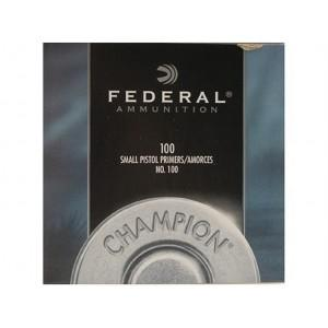 Federal Small Pistol Primers - 100CT?>