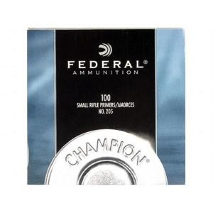 Federal Small Rifle Primers (100 Pack)?>