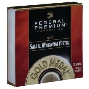 Federal Gold Medal Small Magnum Pistol Primers?>
