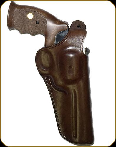 "Alfa Project - Holster - 4.5"" - Right - Brown Leather?>"
