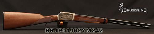 "Browning - 22S/L/LR - BL-22 FLD Grade II - Lever Action Rifle - Walnut Stock/ Engraved Receiver/Blued, 20""Barrel, 15 Round Capacity, Mfg# 024108102, S/N BRJP01902YM242?>"