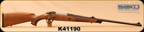 "Used - Sako - 375H&H - Model 85L Bavarian - Walnut/Blued, 24.5""Barrel, 4rd Detachable Magazine, only 10 rounds fired - no box?>"