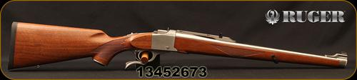 "Ruger - 257Roberts - Ruger#1 KRSI - Falling Block - American Walnut Stock/Satin Stainless, 20""Barrel, 1:10""RH Twist, Mfg# 21318, S/N 13452673?>"