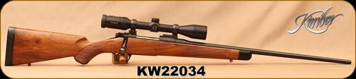 "Consign - Kimber - 325WSM - Classic Select Grade - Bolt Action Rifle - High Grade Walnut/Blued, 23.5""Barrel, c/w Zeiss Conquest, 3-9x40MC Scope, Duplex Reticle?>"