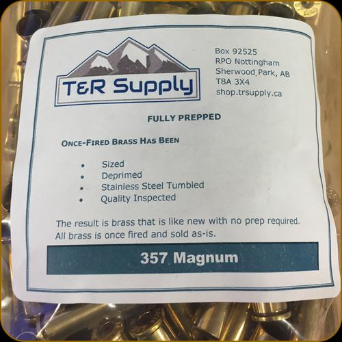 T&R Supply - 357 Magnum - Once-Fired Brass - Mixed - 250ct?>