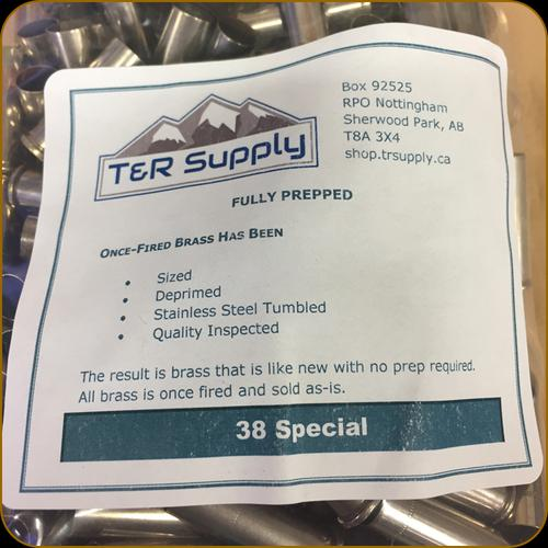 T&R Supply - 38 Special - Once-Fired Brass - Mixed - Nickel - 250ct?>
