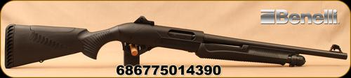 "Benelli - 12Ga/3.5""/18"" - SuperNova Tactical - Pump Action Shotgun - Black Synthetic/Blued,  4+1, Ghost Ring Sight, Mfg# 20155?>"