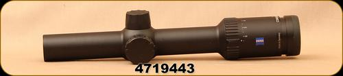 Consign - Zeiss - Conquest - V6 - 1-6x24mm, #60 Reticle - Scope mounted only, not hunted or shot - in original box?>