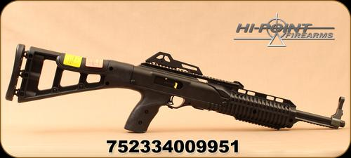 "Hi-Point Firearms - 9mm - Model 995TS - Semi Auto Carbine - Black Polymer Skeleton Stock /Blued, 16.5""Barrel, Integral Picatinny top rail mount - Restricted?>"
