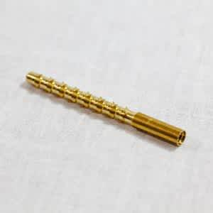 J.Dewey, .22 Caliber Brass Parker Hale Style Jag – Male Threaded?>