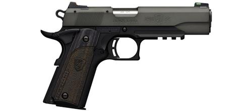 Browning 1911-22 Black Label Gray Pistol with Rail, 22 LR *Special Order*?>