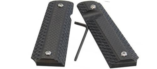 Double Alpha 1911 Grips Carbon Fiber?>