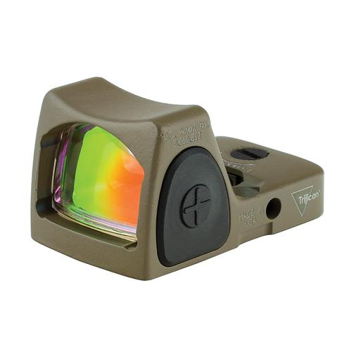 Trijicon RMR Type 2 6.5 MOA Red Dot, Adjustable LED, FDE Cerakote [Special Order]?>