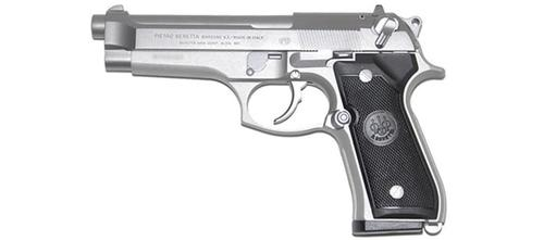 Beretta 92FS 9x19mm LUGER 4.9″ Barrel Inox?>