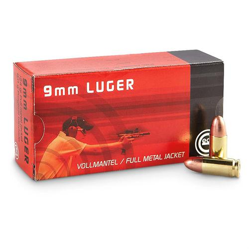 RUAG Geco 9mm LUGER 124gr FMJ – Pack of 50 Rounds?>