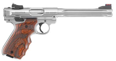 Ruger Mark IV Hunter Pistol .22LR Laminate Stainless?>