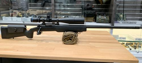 Dakota T76 Longbow Bolt Action Rifle, 338 Lapua w/ IOR Bucuresti 9-36x56mm Scope?>