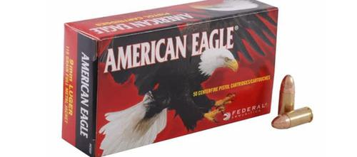American Eagle 9mm Luger 147gr FMJ FP – Box of 50 Rounds?>