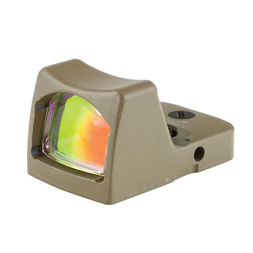 Trijicon RMR Type 2 Red Dot Sight 6.5 MOA Red Dot, LED Illuminated, FDE Cerakote [Special Order]?>