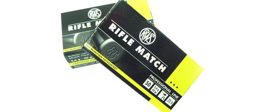 RWS Rifle Match .22 LR 40gr – Pack of 50 Rounds?>