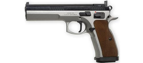 CZ75 Tactical Sport, 9mm, Dual Tone?>