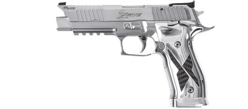 Sig Sauer P226 X-Five 9mm (9×19) Luger SAO ADJ. – Chrome/Carbon – Made in Germany?>