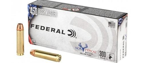 Federal 450 Bushmaster Non-Typical HP 300gr – 20rds?>